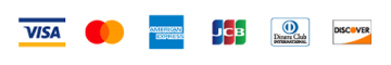 Credit Card brand logos