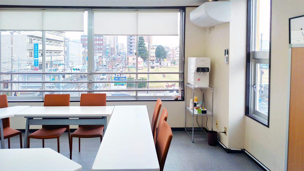 会議室内大型浄水器設置